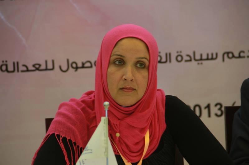 الناشطة سامية الزبيدي