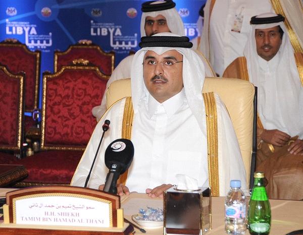 تعتبر قمة الكويت القمة الأولى للأمير القطري