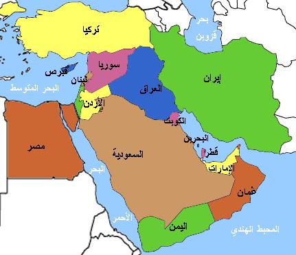 خريطة الصراع الطائفي في العالم الإسلامي ساسة بوست