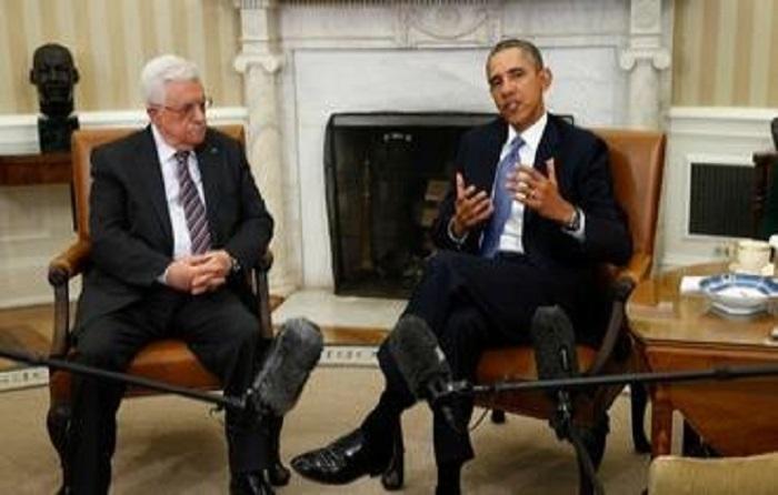 أوباما يلتقي عباس بالبيت الأبيض 17 مارس