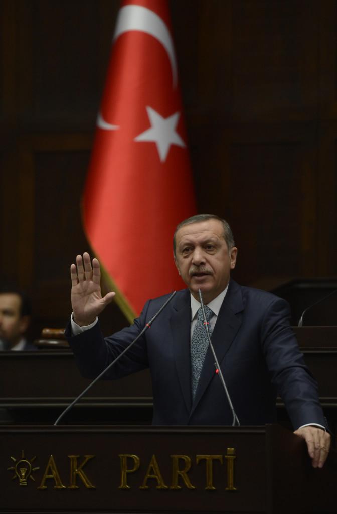 أردوغان في كلمته التي ألقاها أمام كتلة حزب العدالة والتنمية البرلمانية حول عملية التنصت