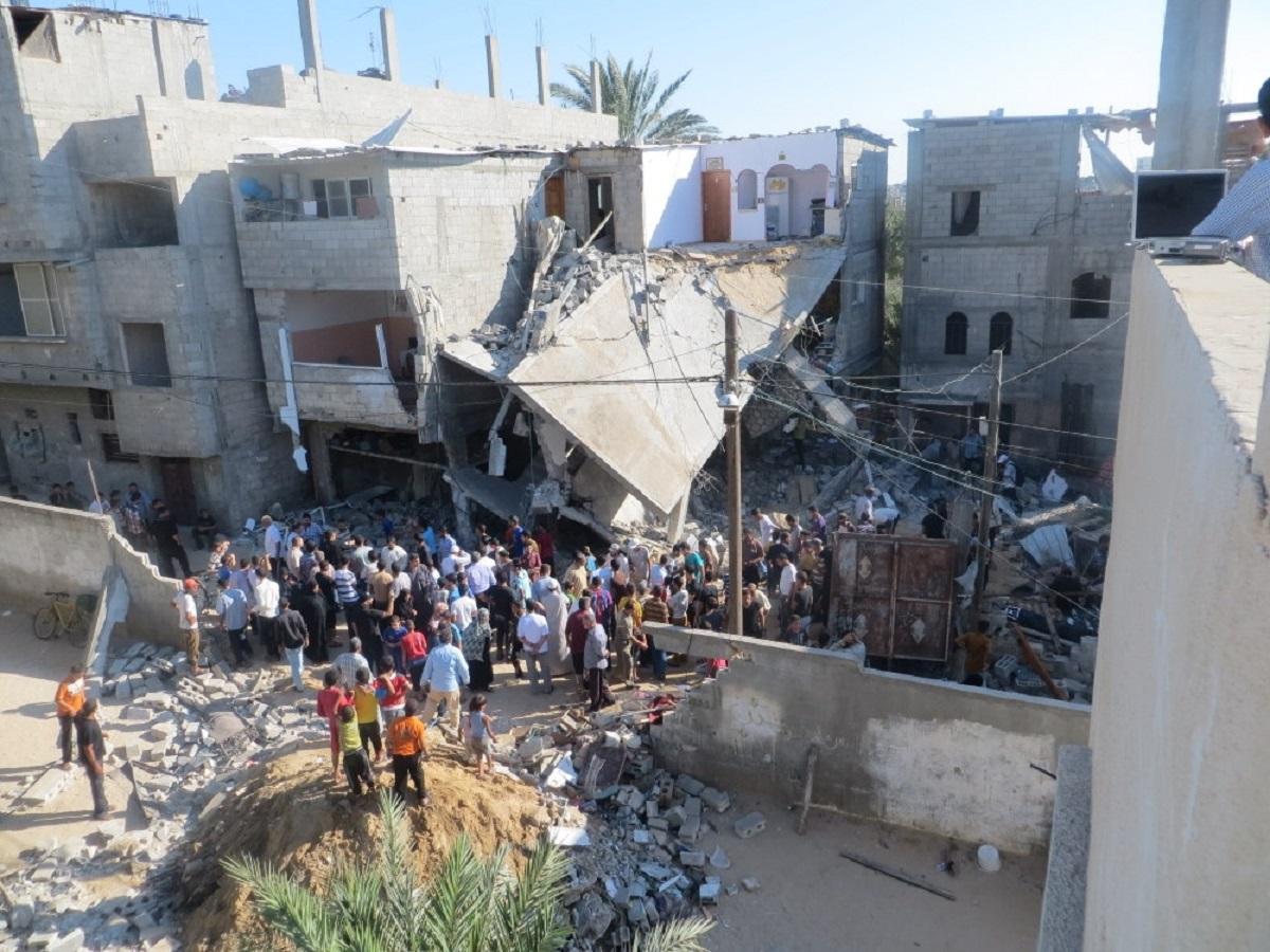 غزة في عدوان الجرف الصامد
