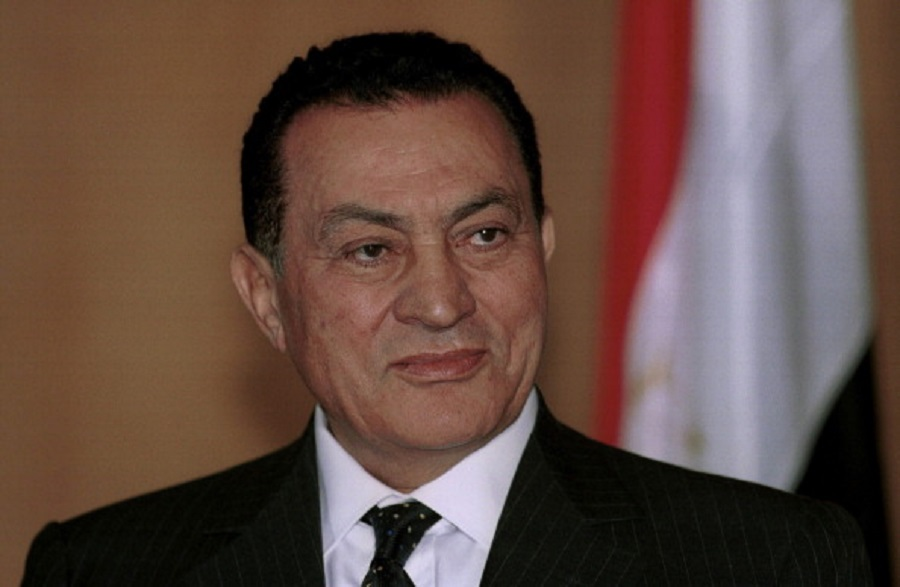 Hosni MUBARAK, Egyptian president.