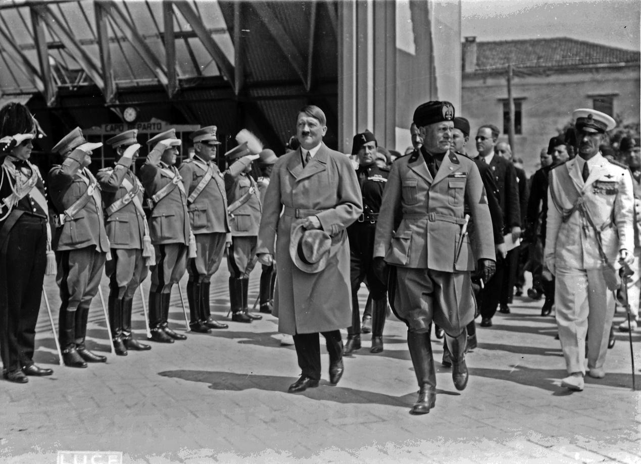 هتلر وموسوليني