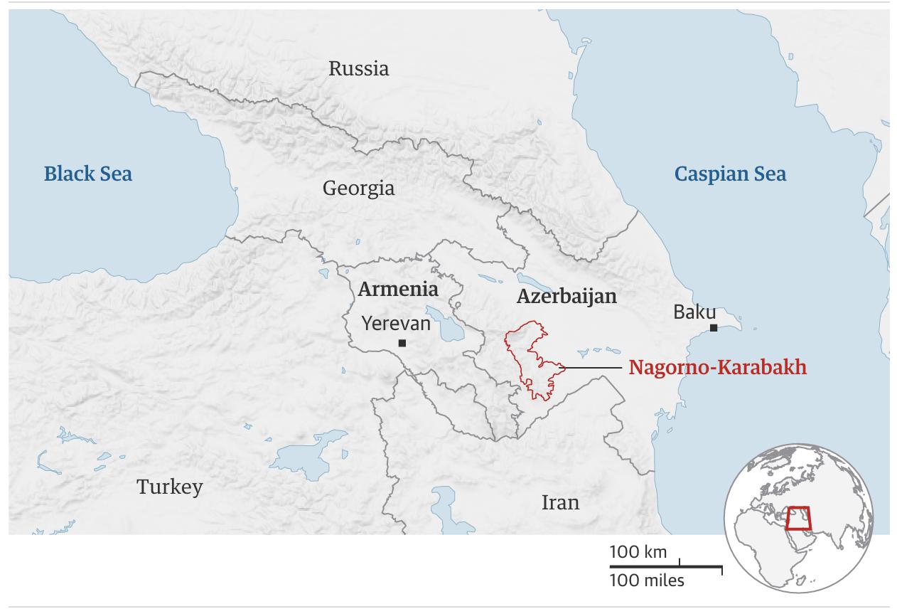 5 أسئلة تشرح لك ما الذي يحدث في أرمينيا وأذربيجان