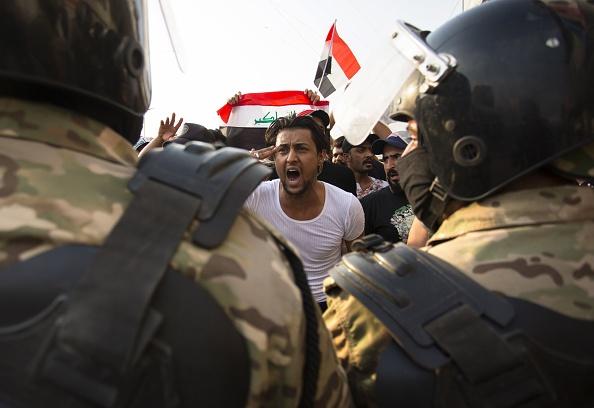 مظاهرات 25 أكتوبر في العراق