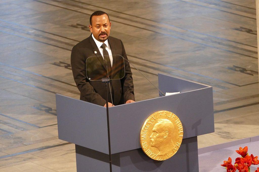رئيس الوزراء الإثيوبي، آبي أحمد.