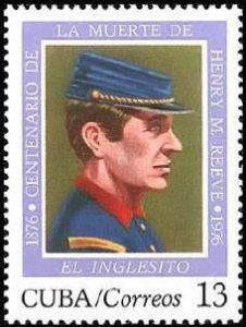 الطابع البريدي التذكاري لهنري ريف