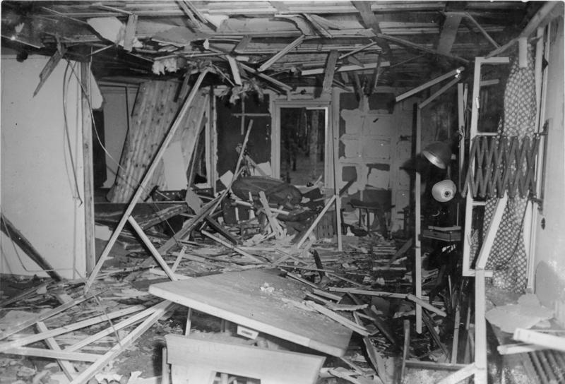 الدمار يسود موقع «عملية فالكيري» الذي خرج منه هتلر حيًا