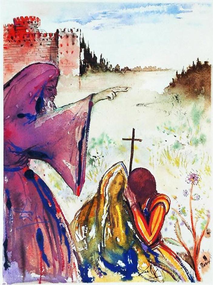 سلفادور دالي، روميو وجولييت لشكسبير، 1978م