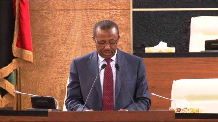 رئيس الحكومة المكلف عبد الله الثني