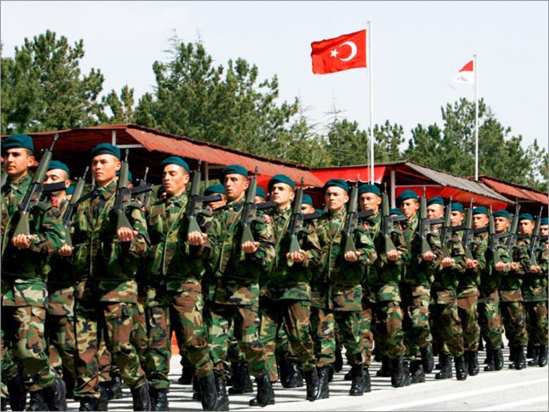 الجيش التركي – المصدر:الأوروربية