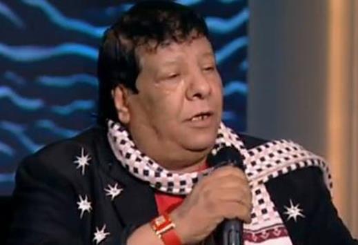 المطرب الشعبي شعبان عبد الرحيم