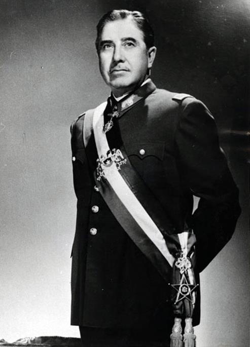 الجنرال بينوشية