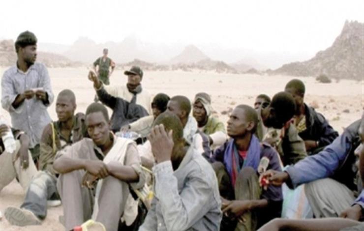 مهاجرون من جنوب الصحراء
