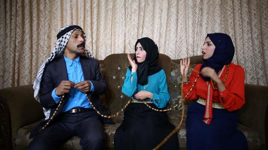 دراما فلسطينية