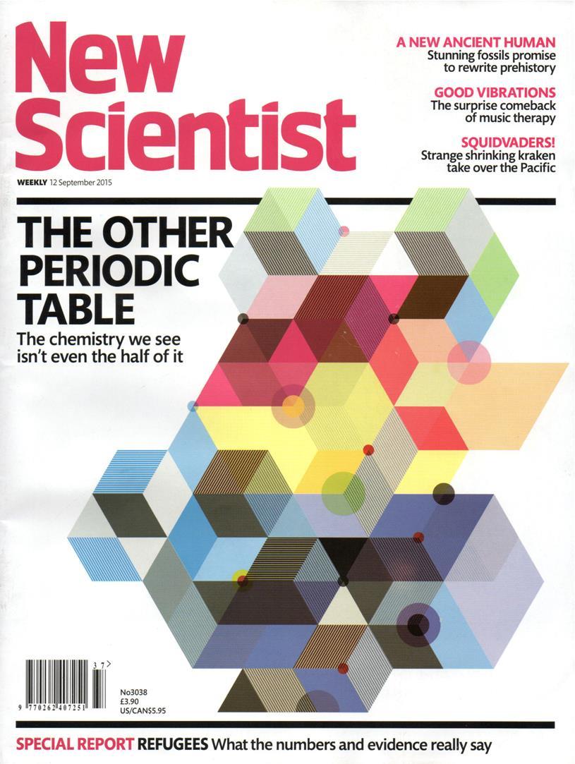 c38c2f743 مجلة «نيو ساينتست» هي مجلة علمية أسبوعية تصل الى أكثر من ثلاثة ملايين قاريء  من خلال قنواتها ومنتجاتها المختلفة التي تتضمن مجلة علمية ورقية، ونسخة  رقمية، ...