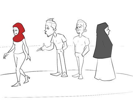 de0645d36 إلى حواء: ماذا تحمل نظرة الرجل إلى جسدك؟ - ساسة بوست