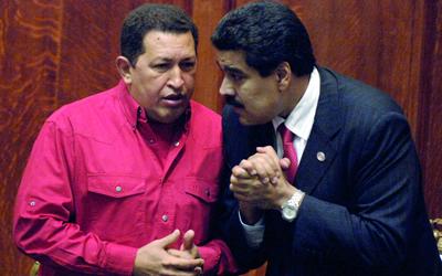 كان مادورو هو الذراع الأيمن لتشافيز.