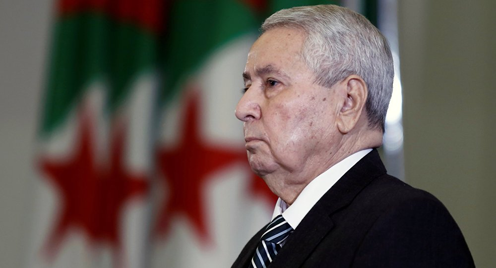 الرئيس الجزائري المؤقت