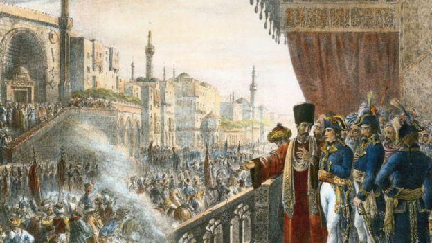 نابليون في القاهرة