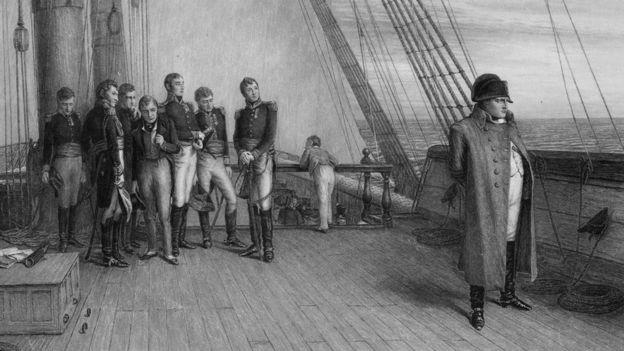 نابليون في طريق حملته إلى مصر