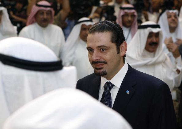 Lebanese Prime Minister Saad al-Hariri a