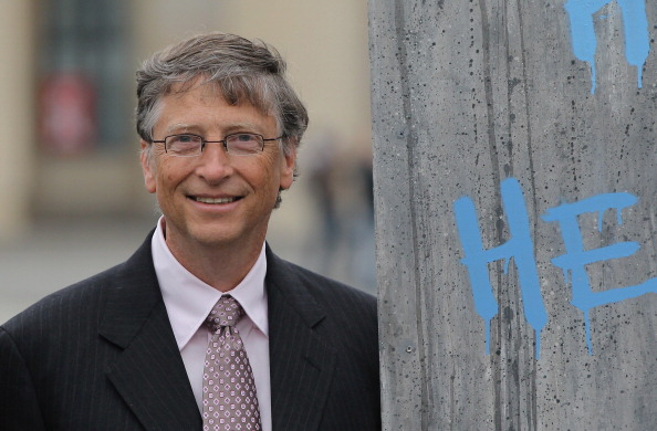 Bill Gates Meets With German Government Leaders