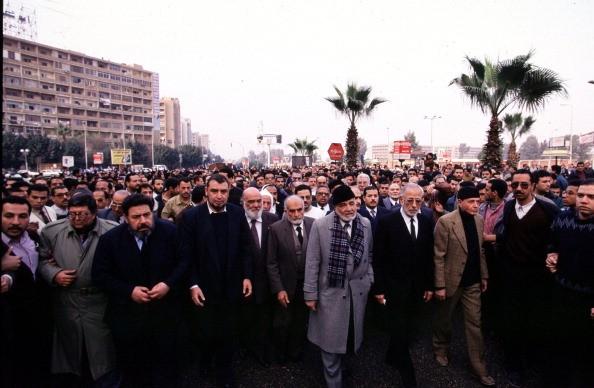 KRT WORLD NEWS STORY SLUGGED: EGYPT-BROTHERS KRT PHOTOGRAPH