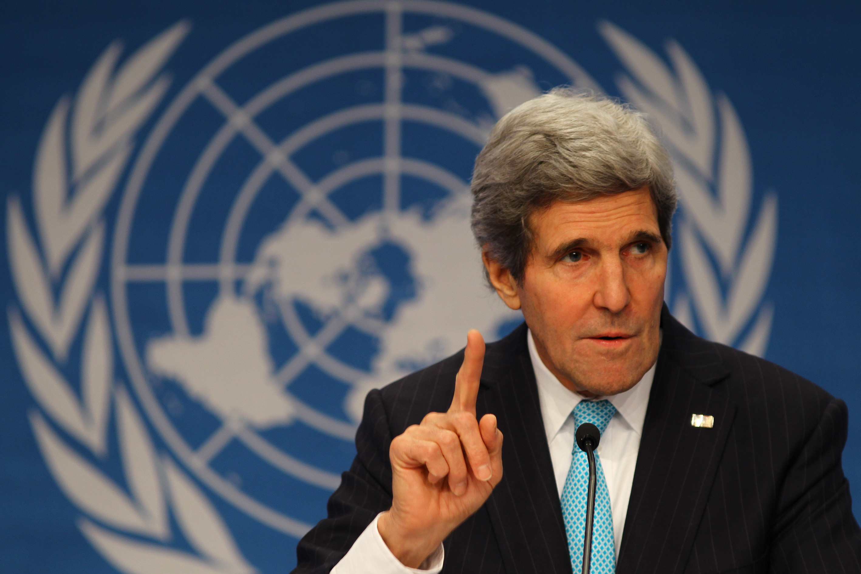 كيري: جنيف2 بداية لمرحلة معقدة تهدف إلى إيجاد حل سياسي للأزمة السورية