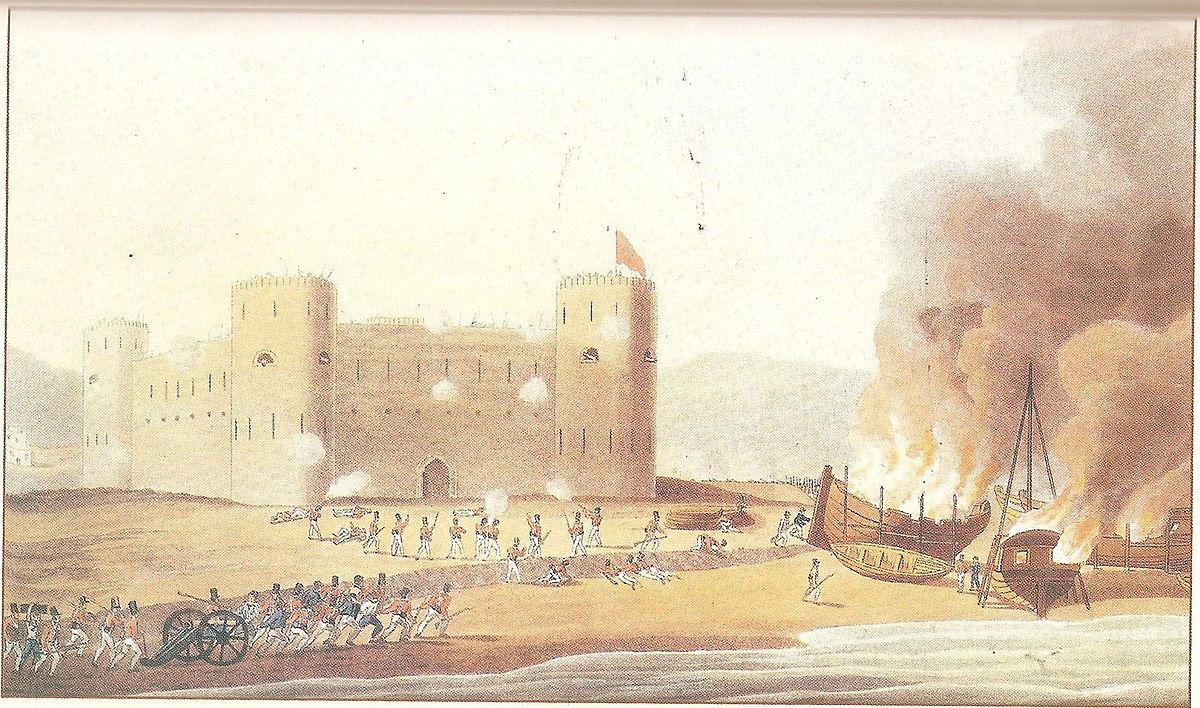 الغزو الإسباني للسواحل الجزائرية