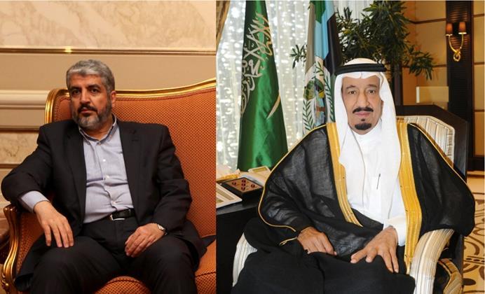 """زيارة رئيس المكتب السياسي لـ"""" حماس"""" خالد مشعل للسعودية"""