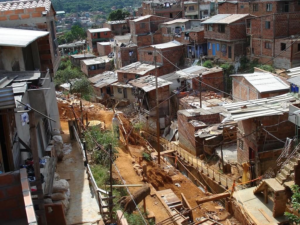 الفقر في كولومبيا