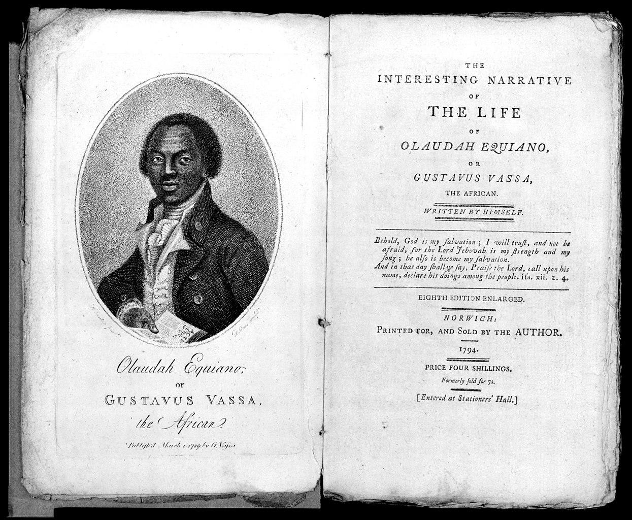 كتاب «قصة حياة أولودا إكويانو المثيرة»