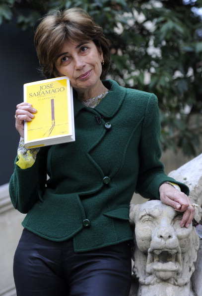 Portuguese writer Nobel Jose Saramago's