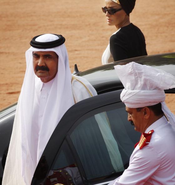 Emir of the State of Qatar Sheikh Hamad Bin Khalifa Al-Thani on Three-day State Visit