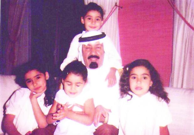 الملك عبدالله وبناته
