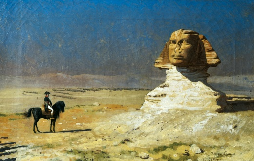 General Bonaparte in Egypt, by Jean-Leon Gerome (1824-1904), 92.7 x137 cm, 1867