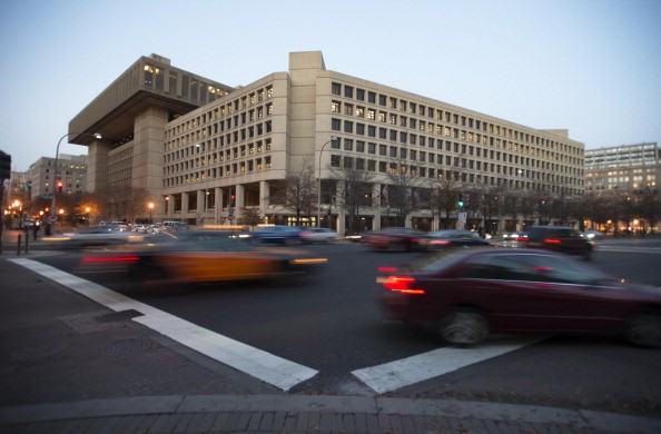 WASHINGTON, DC - DECEMBER 3: The J. Edgar Hoover FBI Building in Washington, DC on Dec. 3. The FBI may move to another building. (Photo by Bonnie Jo Mount/The Washington Post via Getty Images)