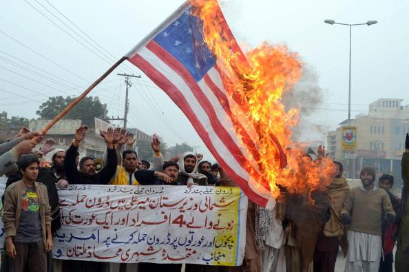 احتجاجات باكستانية