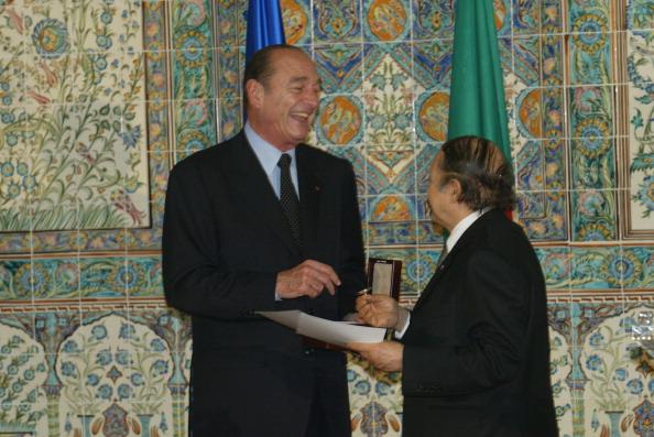 Jacques Chirac Visit In Algeria