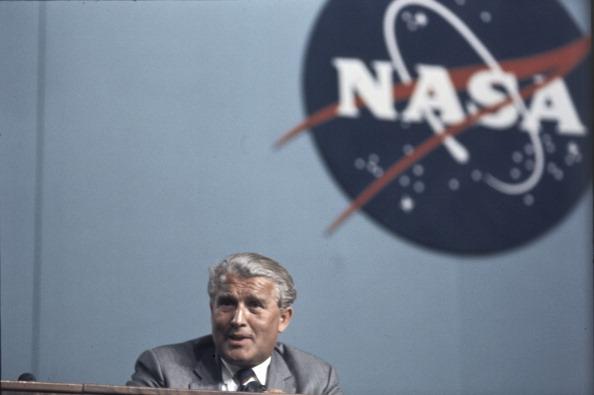 Portrait Of Wernher Von Braun