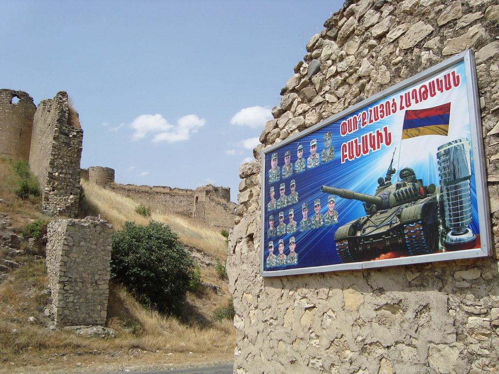 النزاع بين أرمينيا وأذربيجان حول إقليم «ناغورني قرة باغ»