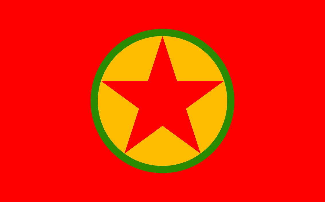علم حزب العمال الكردستاني