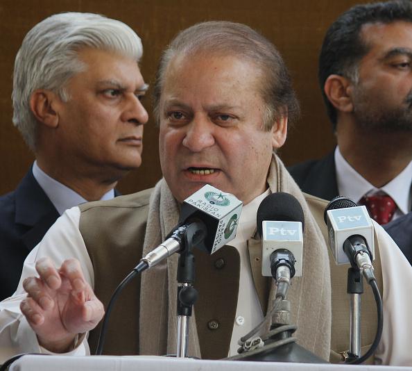 Prime Minister of Pakistan Mian Muhammad Nawaz Sharif (