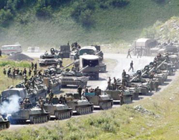 القوات الروسية في جورجيا