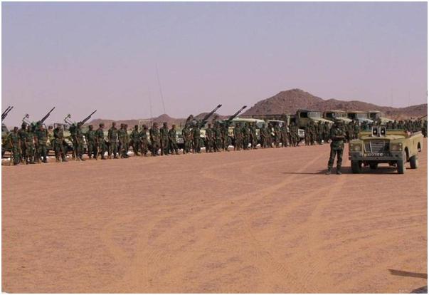 عناصر مسلحة تابعة للبوليساريو