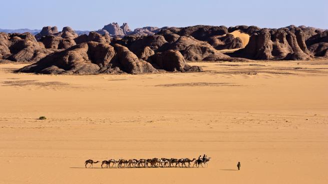 صحراء الطاسيلي تزخر بالذهب