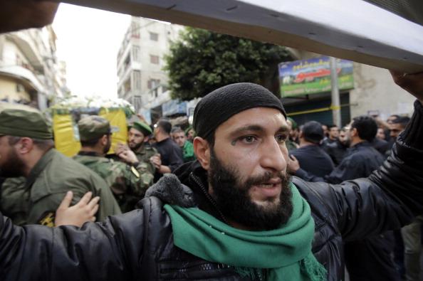 LEBANON-SYRIA-IRAN-CONFLICT-HEZBOLLAH-FUNERAL