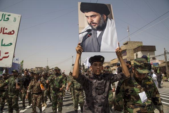 Shi'a militia of Moqtada Sadr Stages Show of Strength